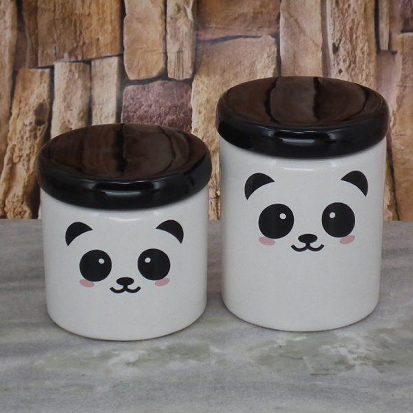 Pote Roma Medio Rostinho Panda T_Preta