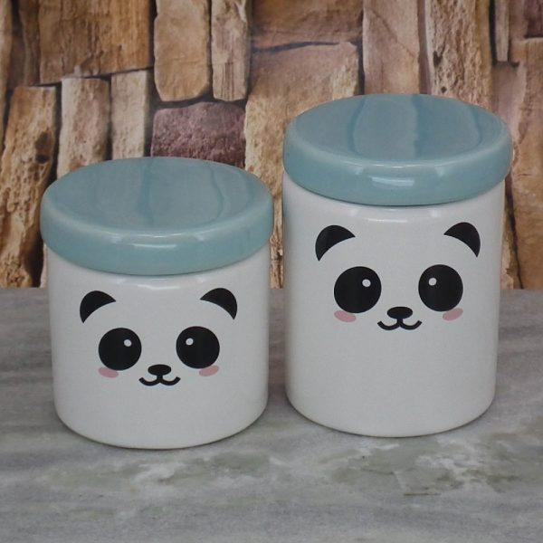 Pote Roma Medio Rostinho Panda T_Azul Velho